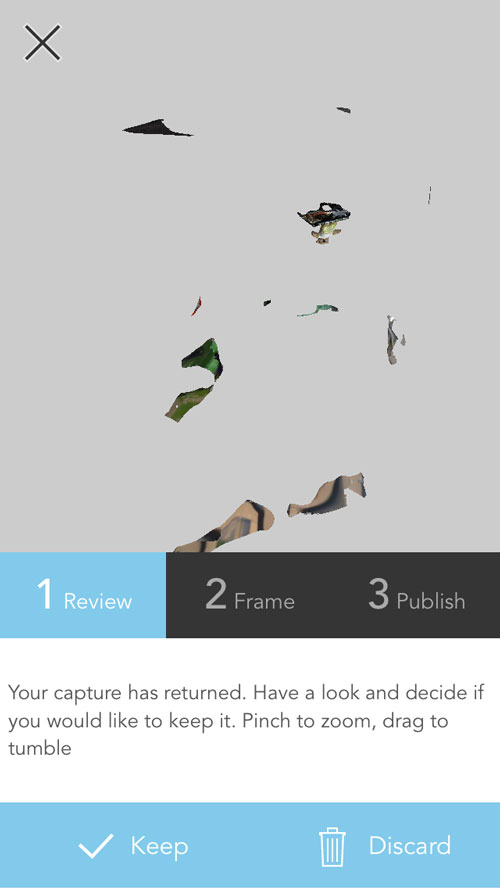 123D Catch Photogrammetry 3D Scanning App Review
