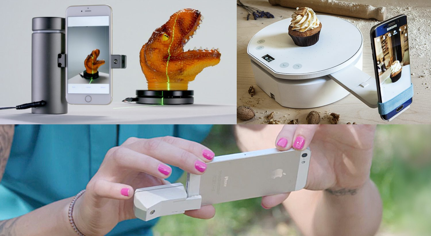 3 Affordable, Upcoming, Crowdfunded 3D Scanners for your Smartphone