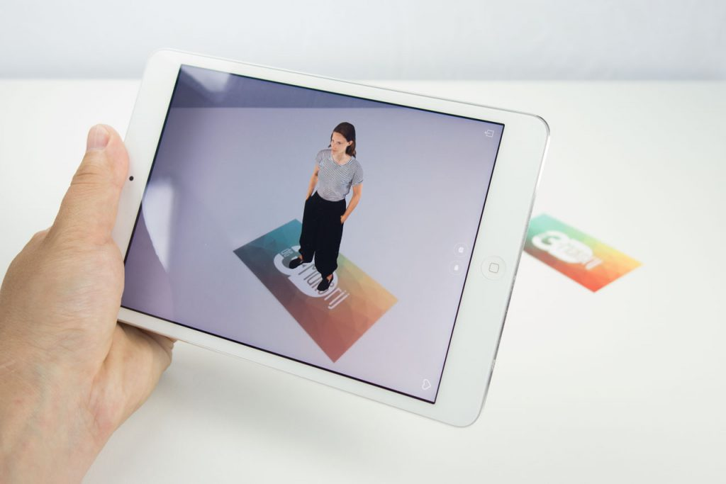 Share your 3D Scan in Pokémon GO-style Augmented Reality (AR)