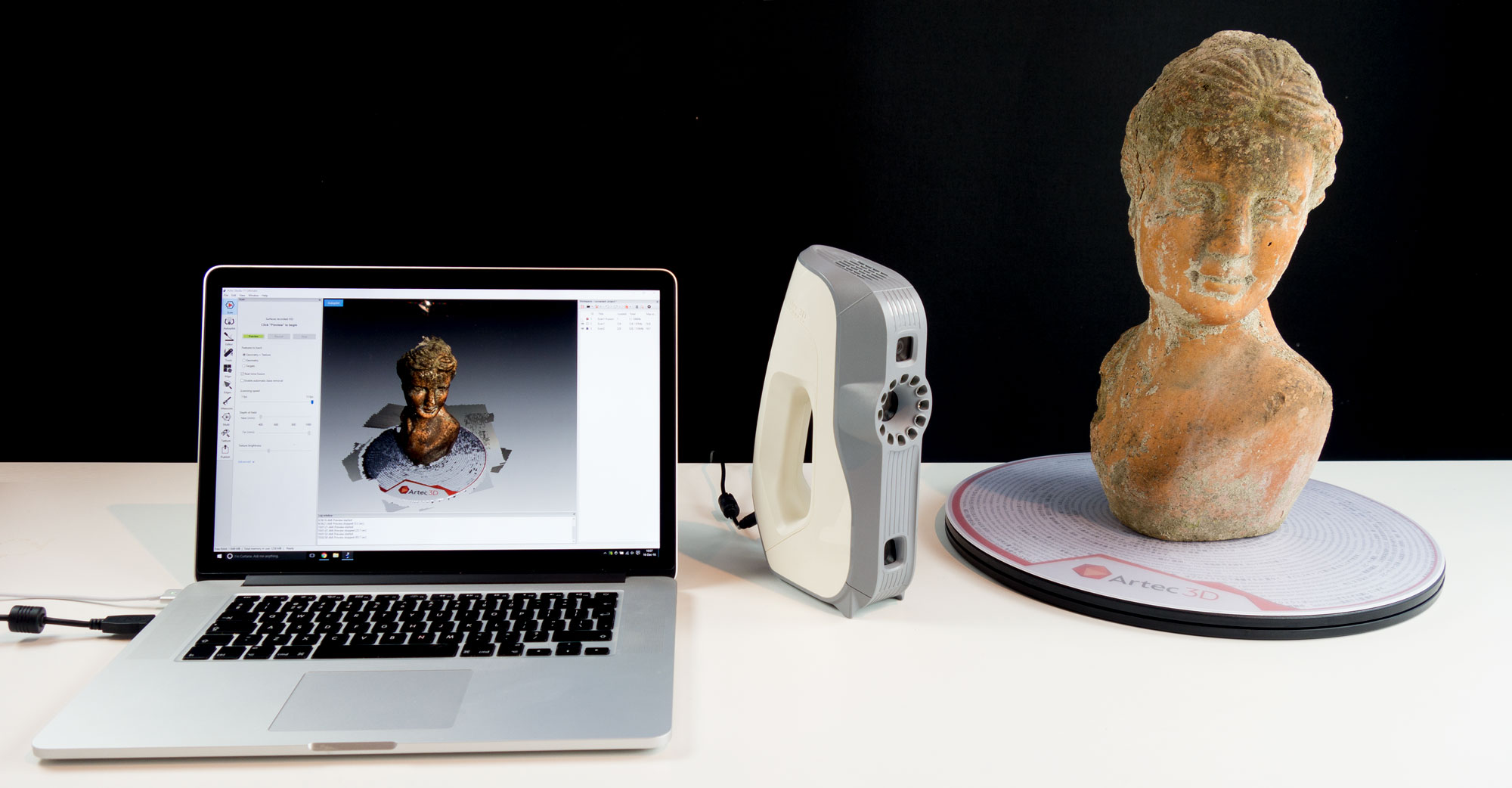 Artec Eva 3d Scanner Review 3d Scan Expert