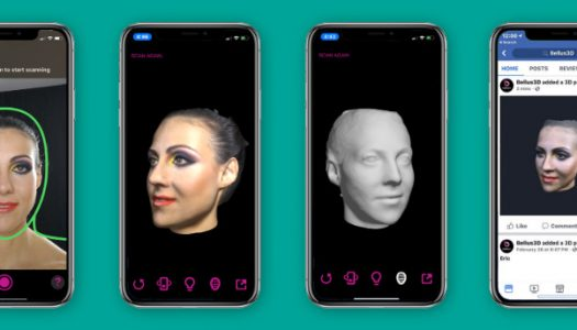 3D Scan your face with the iPhone X and Bellus3D app