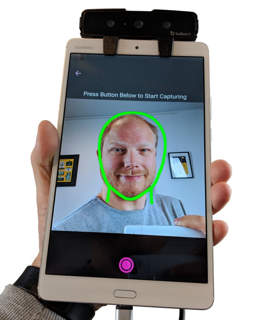 Bellus3D Face Camera Pro for Android Review - 3D Scan Expert