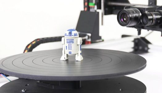 Now on KickStarter: D3D-s brings Robotics to Affordable 3D Scanning