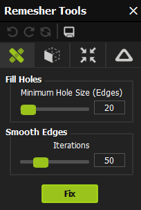 Fuel 3D Scanify Review - Fill Holes