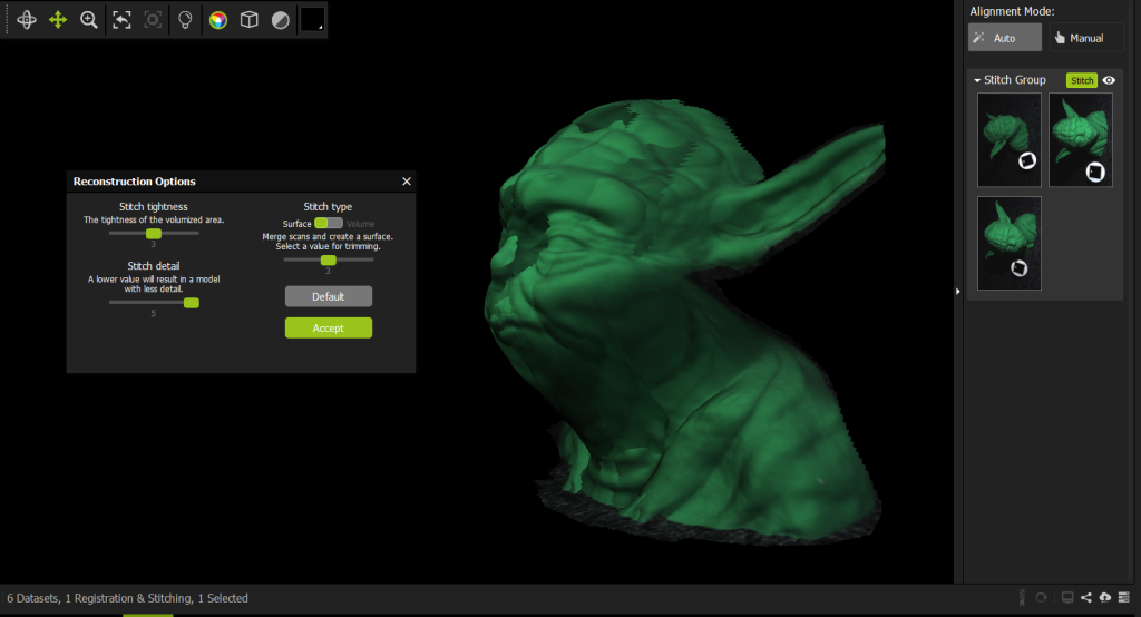 Fuel 3D Scanify Review - Yoda Stitch