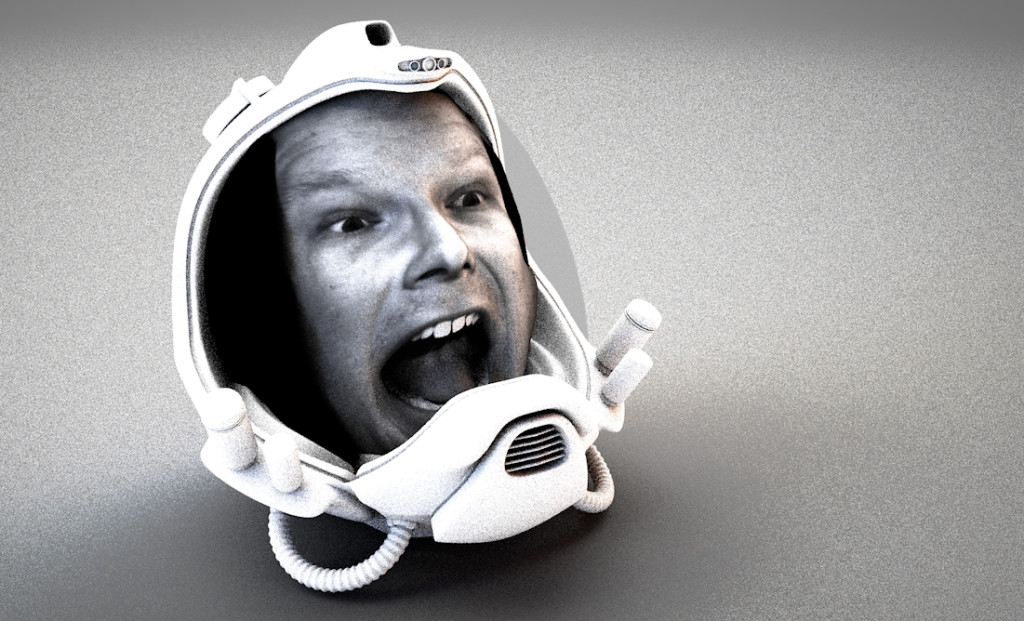 Fuel 3D Scanify Review - Nick Space Helmet