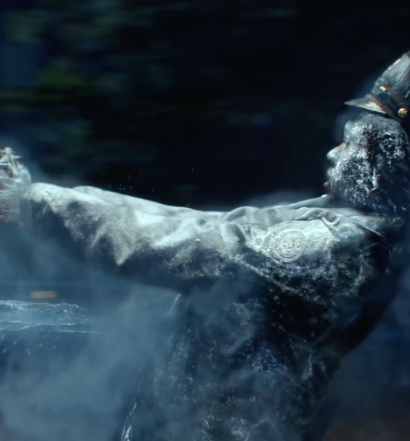 If you've watched Gotham Season 2 you'll remember this iconic shot because it's the first time Mr. Freeze gets into action.