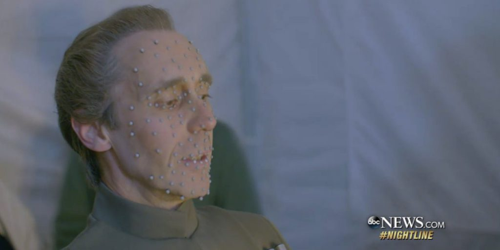 How 3D scanning was used to recreate Grand Moff Tarkin in