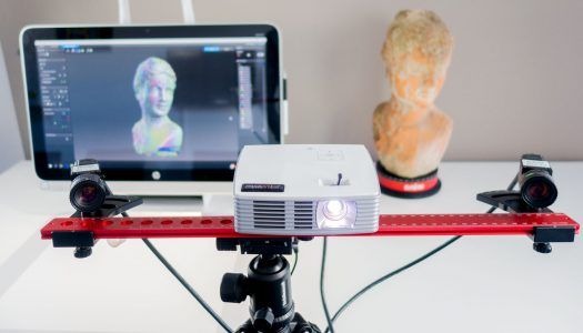 HP 3D Structured Light Scanner Pro S3 (DAVID SLS-3) Review