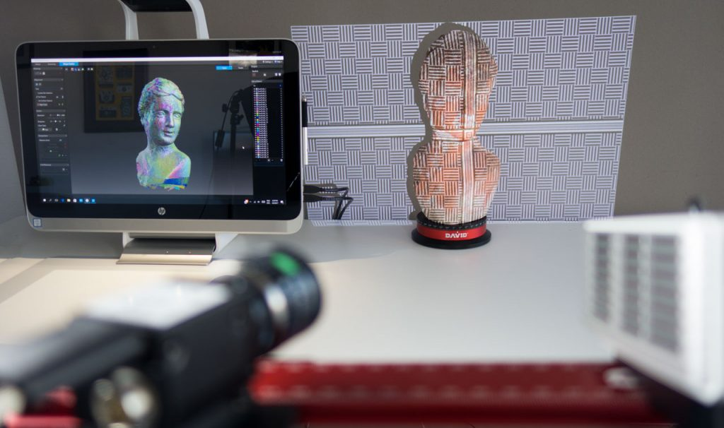 HP 3D Structured Light Scanner Pro S3 (DAVID SLS-3) Review - 3D Scan