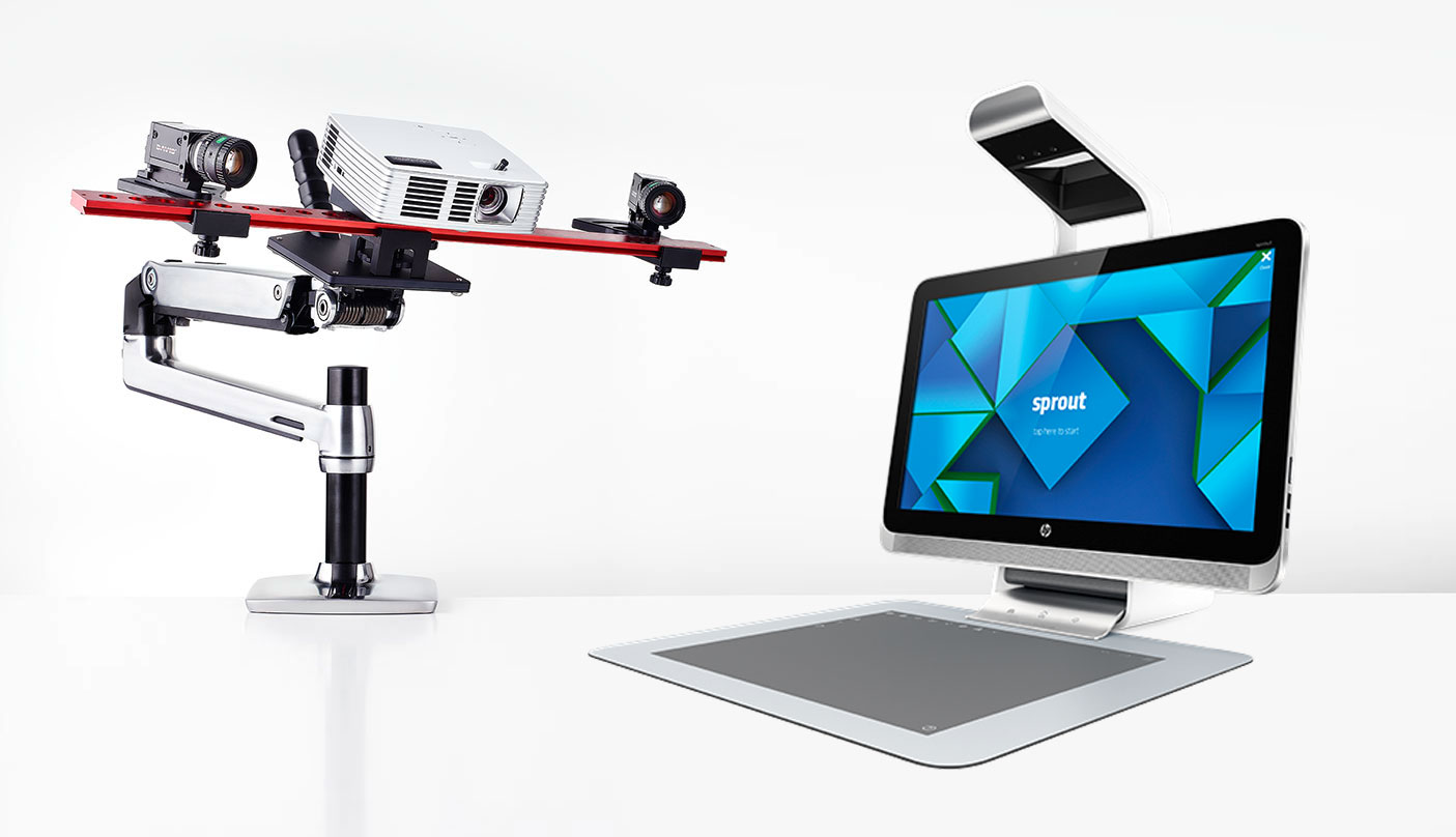 HP is adding seamless DAVID 3D Scanner support to Sprout Pro - 3D