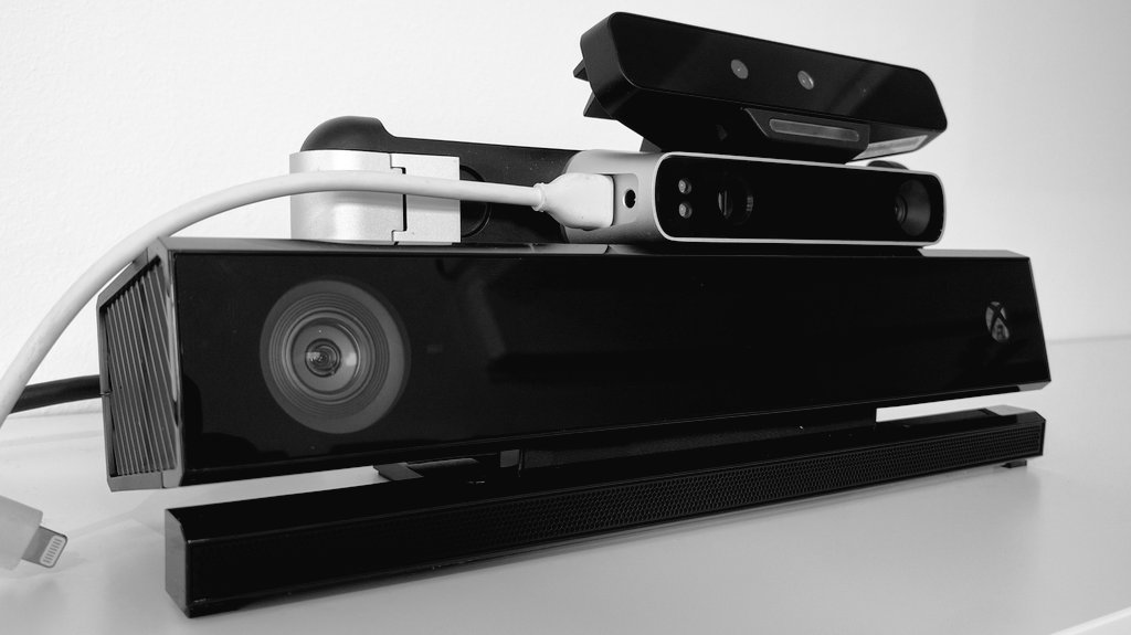 Intel RealSense SR300 vs. Structure Sensor vs. Microsoft Kinect for 3D Scanning