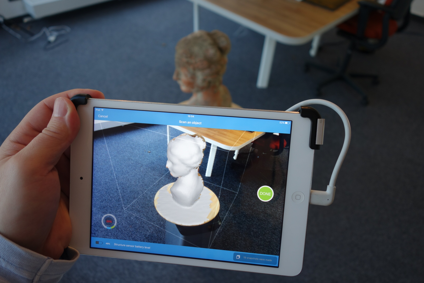 3d Scanner App >> Itseez3d 3d Scanner Ipad App Review 3d Scan Expert