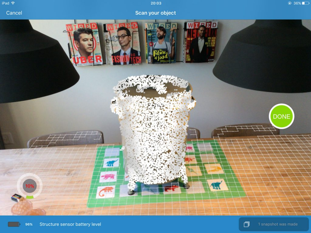 itSeez3D Review - Object Scanning