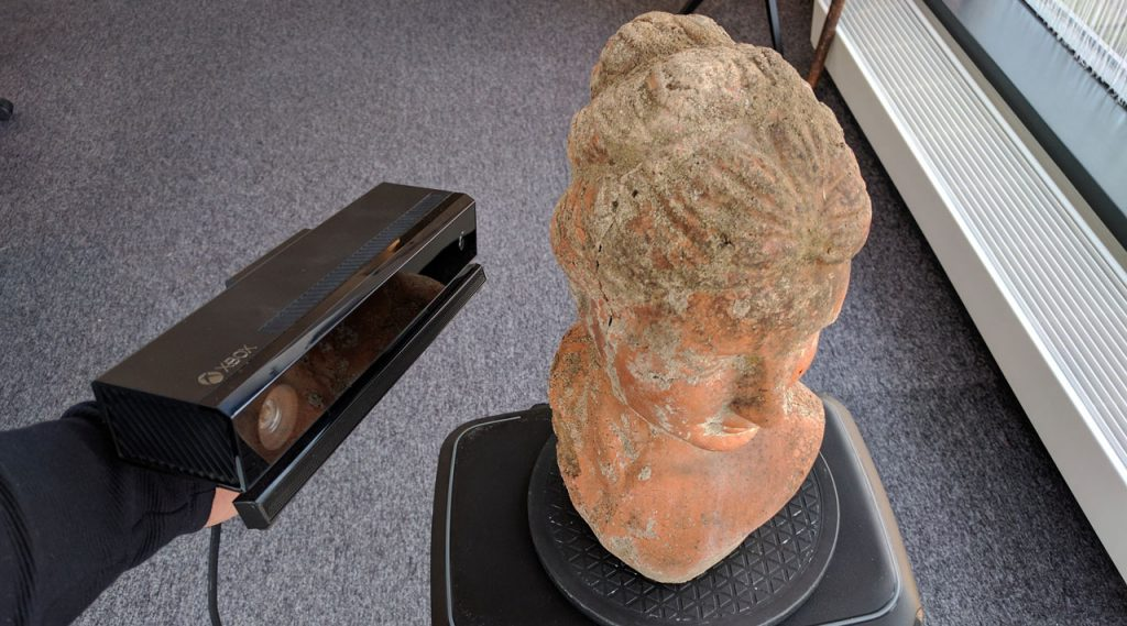 Structure Sensor vs  Intel RealSense SR300 vs  Kinect V2 for 3D Scanning
