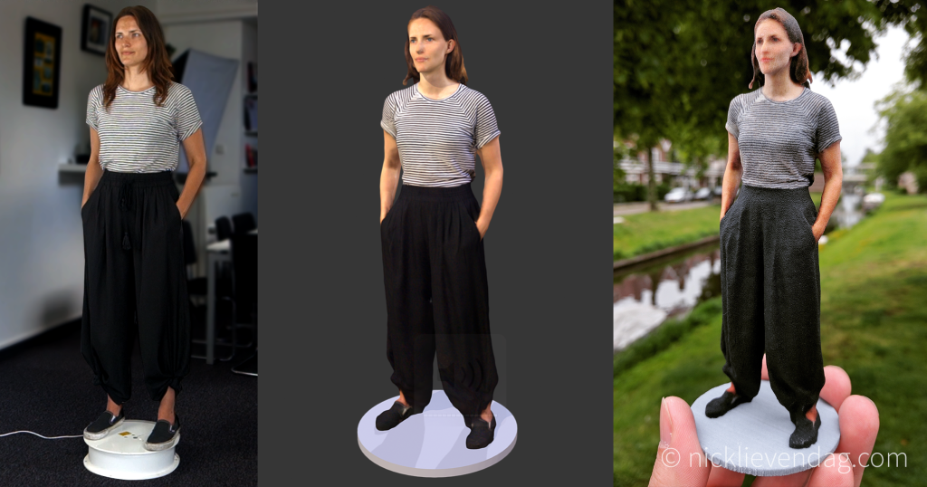 From Reality to 3D Scan to 3D Print
