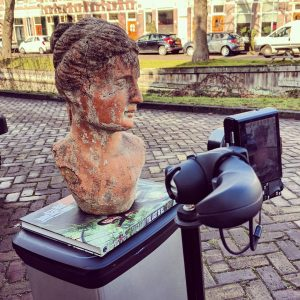 Photogrammetry Set-up: Tripod and Sony RX100M2