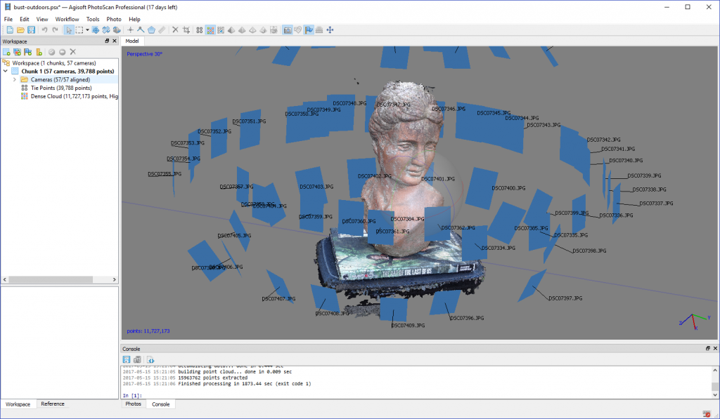 Photogrammetry Drag Race: ReMake vs  PhotoScan vs