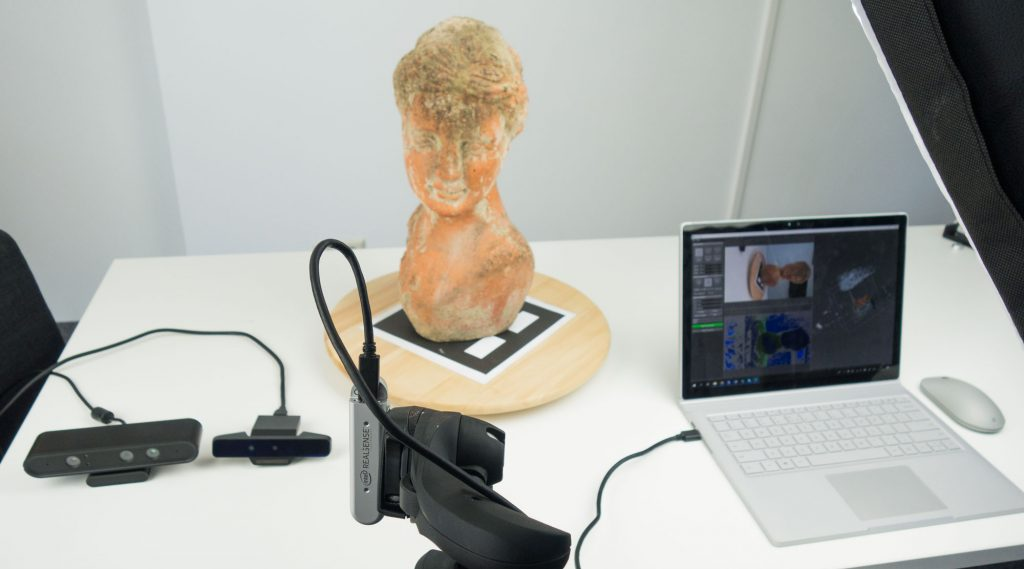 RecFusion 3D Scanning Review with Depth Sensors RealSense D400, D415, SR300, Astra S