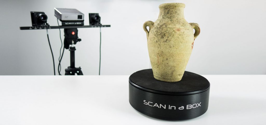 Scan in a Box 3D Scanner Review - Turntable