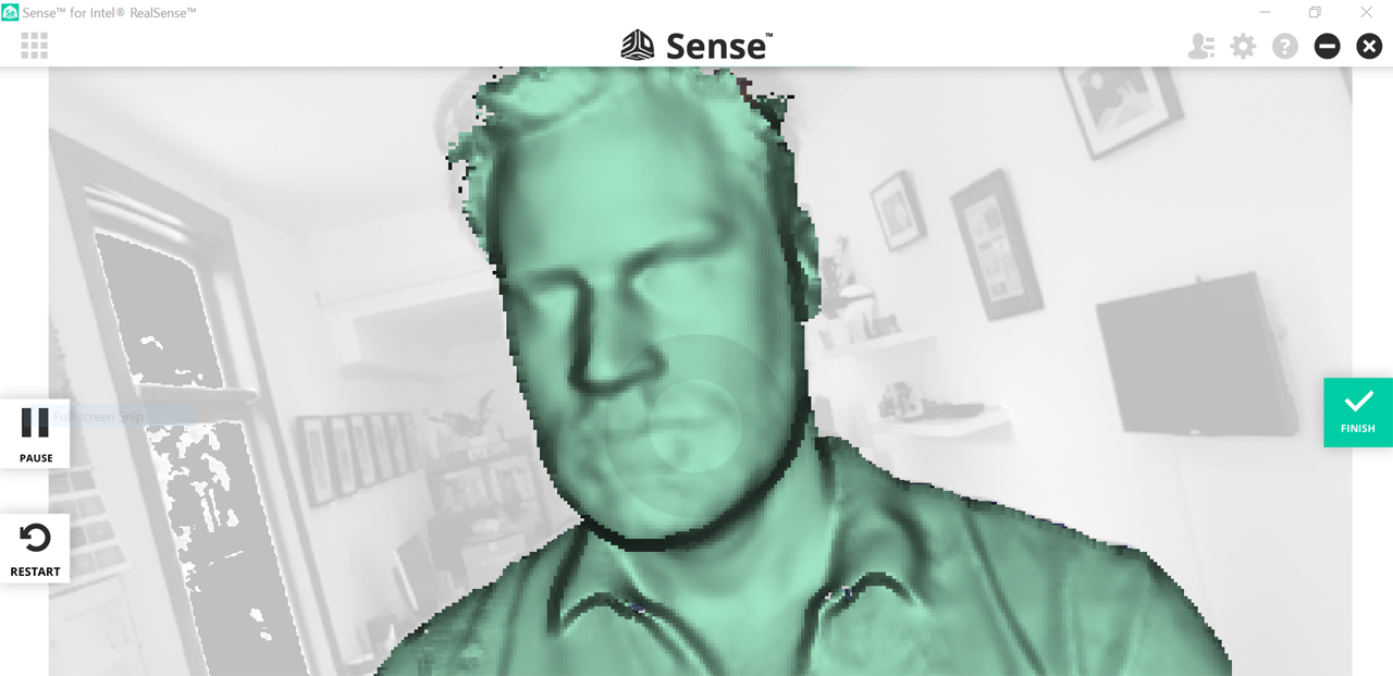 3D Systems Sense for RealSense Software Review - 3D Scan Expert