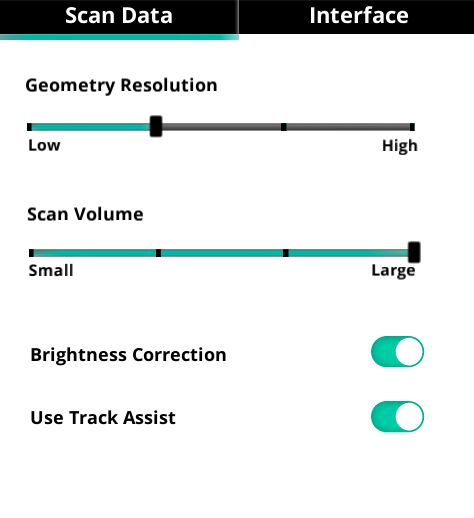 Sense for RealSense Review — Settings 1