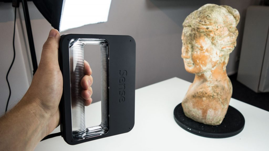 Next Generation Sense 2 3D Scanner Review - Bust Close