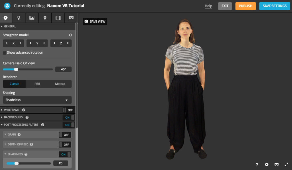 How to View and Share your 3D Scan in Virtual Reality (VR