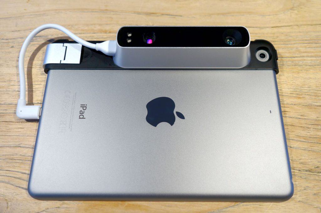 Structure Sensor 3D Scanner Review - iPad Mini